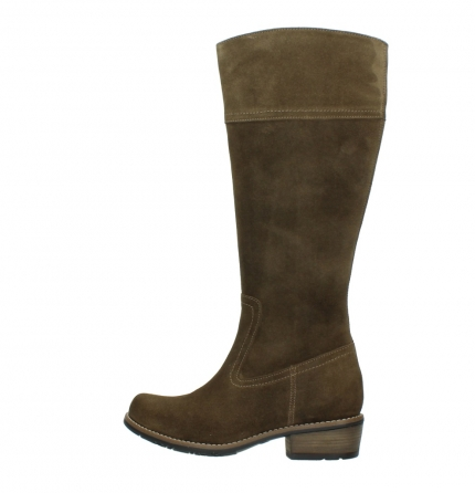 wolky high boots 00553 tinto 40310 mid brown oiled suede_2