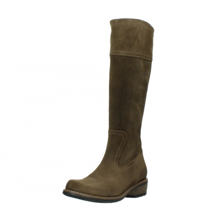 wolky high boots 00553 tinto 40310 mid brown oiled suede_22