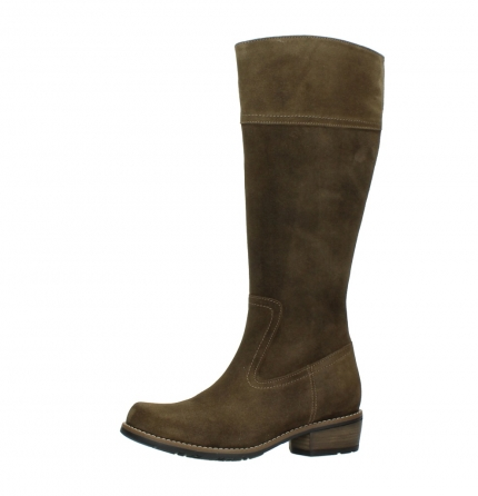 wolky high boots 00553 tinto 40310 mid brown oiled suede_24
