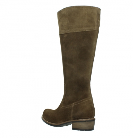 wolky high boots 00553 tinto 40310 mid brown oiled suede_4