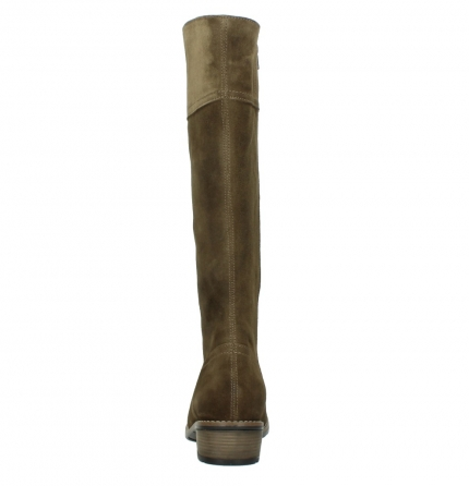wolky high boots 00553 tinto 40310 mid brown oiled suede_7