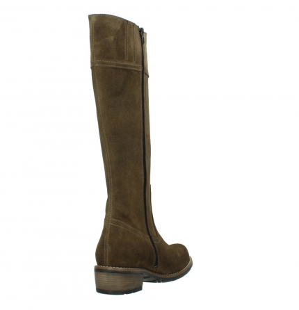 wolky high boots 00553 tinto 40310 mid brown oiled suede_9