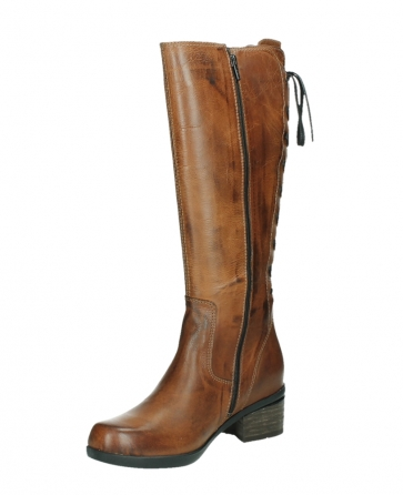 wolky long boots 01379 cupu 30430 cognac leather_10