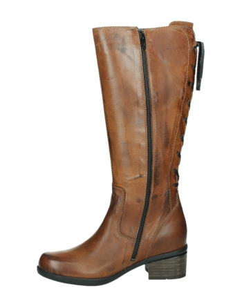 wolky hohe stiefel 01379 cupu 30430 cognac leder_12