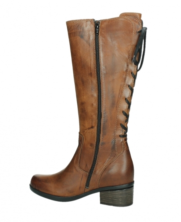 wolky hohe stiefel 01379 cupu 30430 cognac leder_14