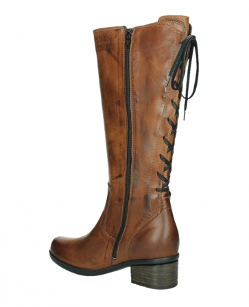 wolky hohe stiefel 01379 cupu 30430 cognac leder_15