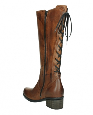 wolky hohe stiefel 01379 cupu 30430 cognac leder_16