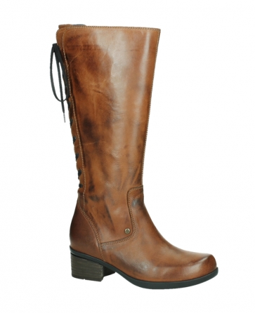 wolky hohe stiefel 01379 cupu 30430 cognac leder_2