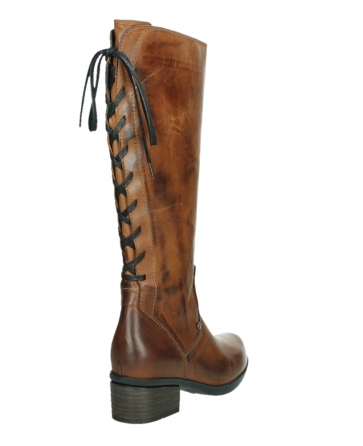 wolky hohe stiefel 01379 cupu 30430 cognac leder_21