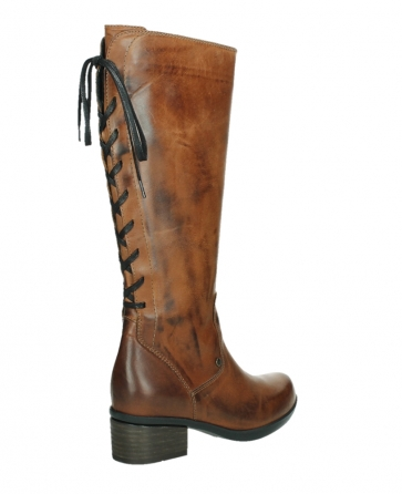 wolky hohe stiefel 01379 cupu 30430 cognac leder_22