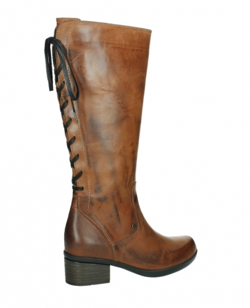 wolky hohe stiefel 01379 cupu 30430 cognac leder_23