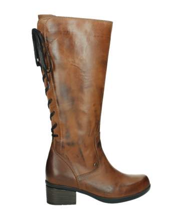 wolky hohe stiefel 01379 cupu 30430 cognac leder_24