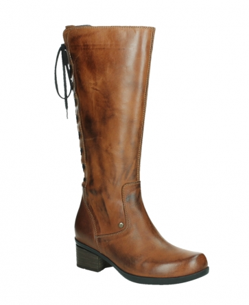 wolky hohe stiefel 01379 cupu 30430 cognac leder_3