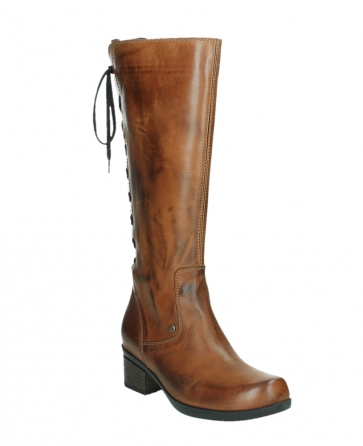 wolky hohe stiefel 01379 cupu 30430 cognac leder_4