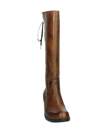 wolky hohe stiefel 01379 cupu 30430 cognac leder_6