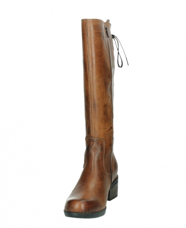 wolky hohe stiefel 01379 cupu 30430 cognac leder_8