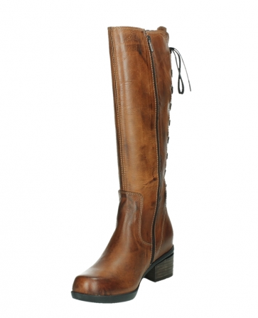 wolky hohe stiefel 01379 cupu 30430 cognac leder_9