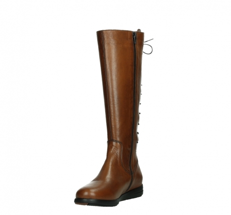 wolky long boots 02426 vector 20430 cognac leather_9