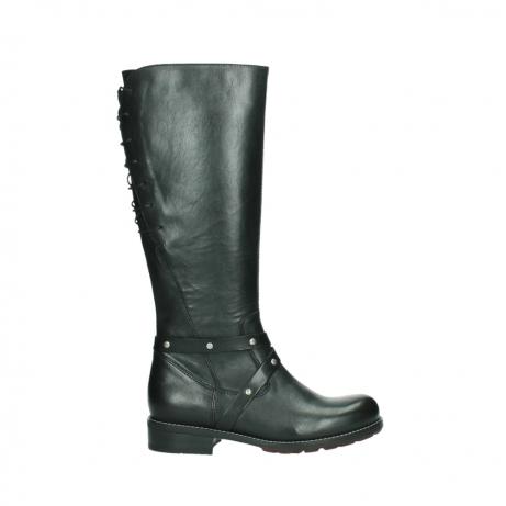wolky bottes hautes 04433 belmore 20000 cuir noir