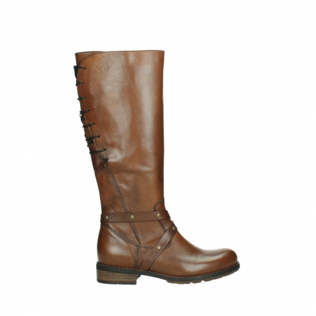 wolky long boots 04433 belmore 20430 cognac leather