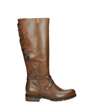 wolky long boots 04433 belmore 20430 cognac leather_1
