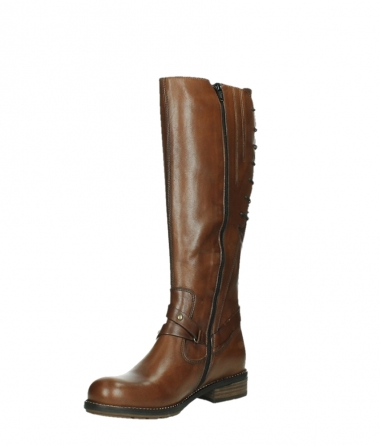 wolky long boots 04433 belmore 20430 cognac leather_10