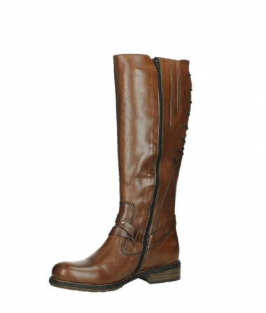 wolky long boots 04433 belmore 20430 cognac leather_11