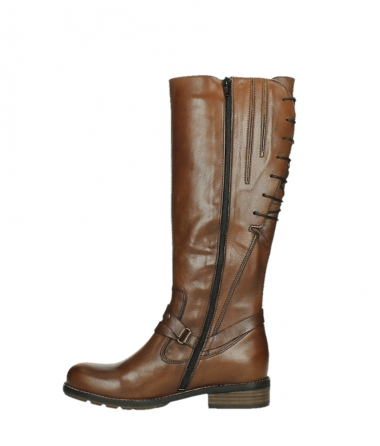 wolky long boots 04433 belmore 20430 cognac leather_13