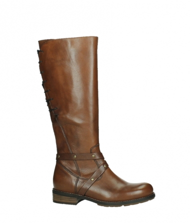 wolky long boots 04433 belmore 20430 cognac leather_2