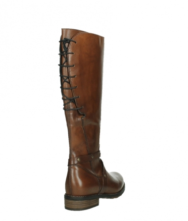 wolky long boots 04433 belmore 20430 cognac leather_21