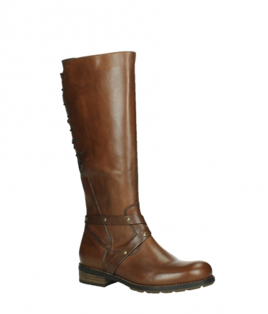 wolky long boots 04433 belmore 20430 cognac leather_3