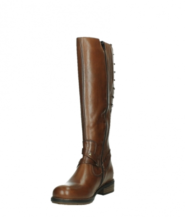 wolky long boots 04433 belmore 20430 cognac leather_9