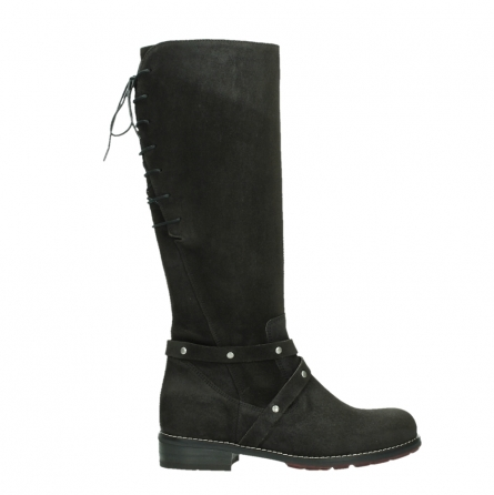 wolky long boots 04433 belmore 45000 black suede_1