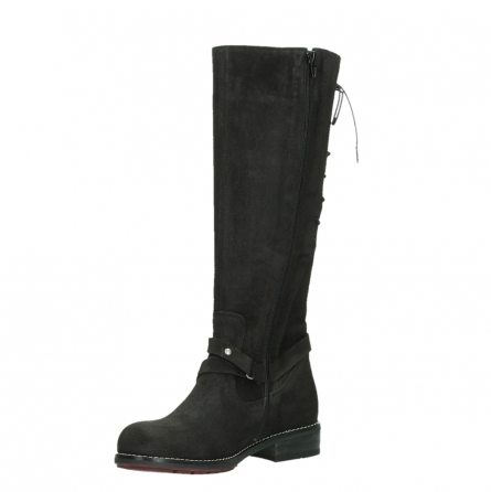 wolky long boots 04433 belmore 45000 black suede_10