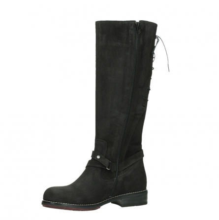 wolky long boots 04433 belmore 45000 black suede_11