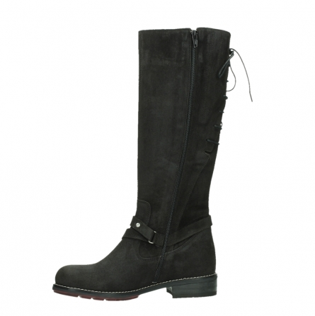 wolky long boots 04433 belmore 45000 black suede_12