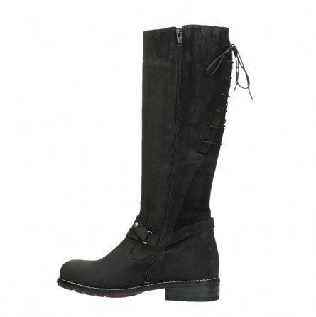 wolky long boots 04433 belmore 45000 black suede_14