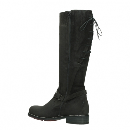 wolky long boots 04433 belmore 45000 black suede_15