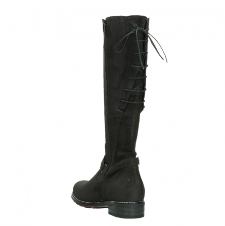 wolky long boots 04433 belmore 45000 black suede_17