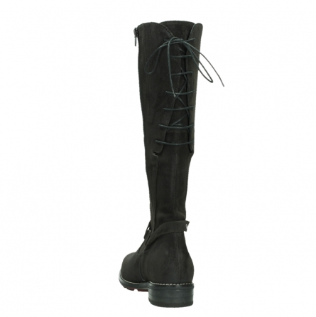 wolky long boots 04433 belmore 45000 black suede_18