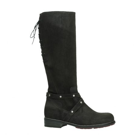 wolky long boots 04433 belmore 45000 black suede_2
