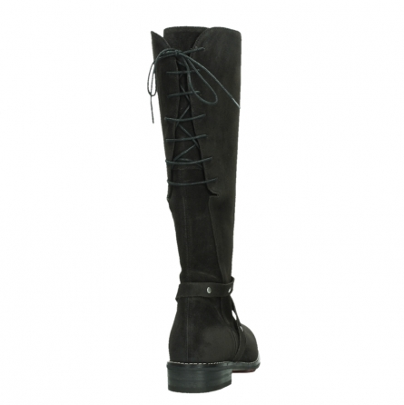 wolky long boots 04433 belmore 45000 black suede_20