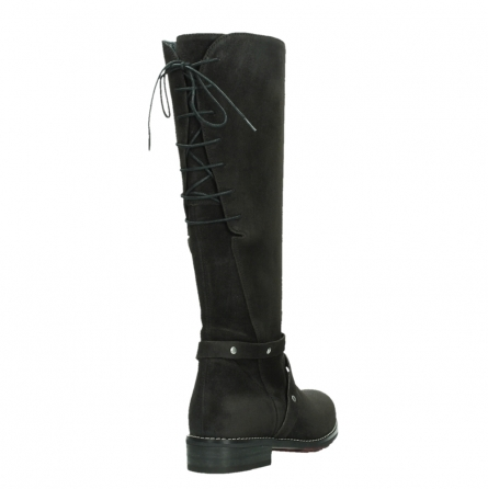 wolky long boots 04433 belmore 45000 black suede_21