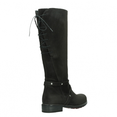 wolky long boots 04433 belmore 45000 black suede_22