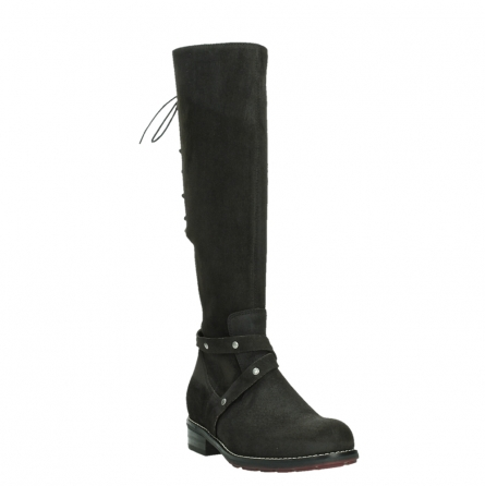 wolky long boots 04433 belmore 45000 black suede_5