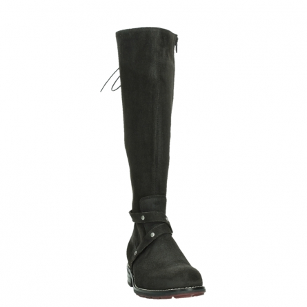wolky long boots 04433 belmore 45000 black suede_6