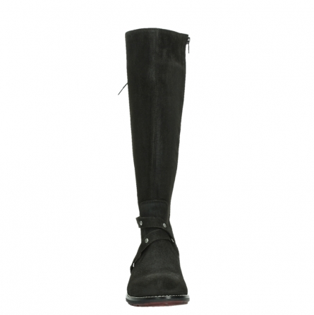 wolky long boots 04433 belmore 45000 black suede_7