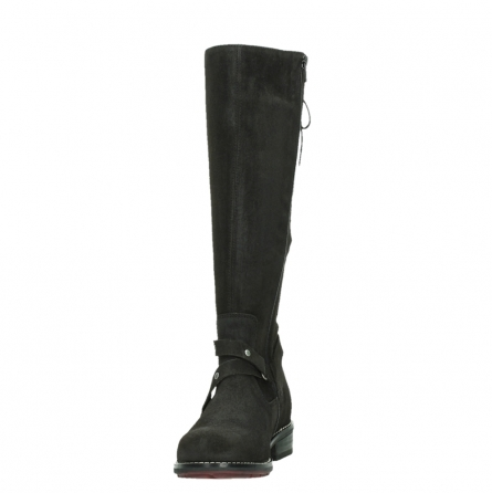 wolky long boots 04433 belmore 45000 black suede_8