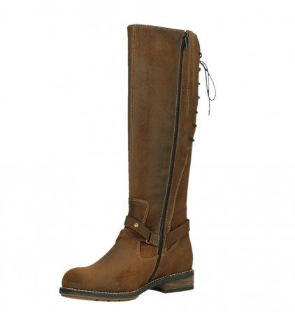 wolky long boots 04433 belmore 45410 tobacco suede_10