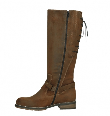 wolky long boots 04433 belmore 45410 tobacco suede_12